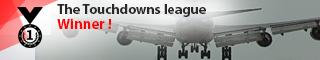 Touchdowns league winner
